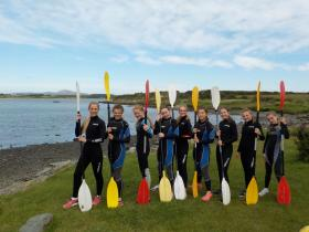 Sea Kayaking for Schools in Anglesey